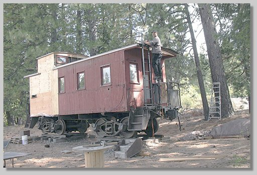 caboose rehab - by Joey Alone