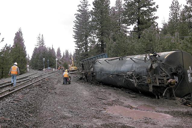 Derailments At Black Butte